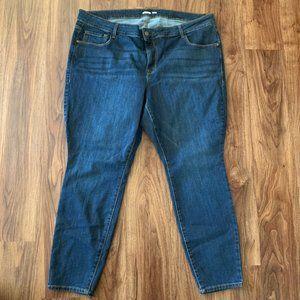 Old Navy Size 24 Short Super Skinny Jean